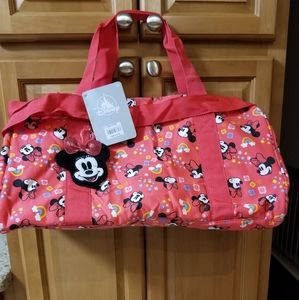 Medium Minnie Mouse Duffel Bag NWT